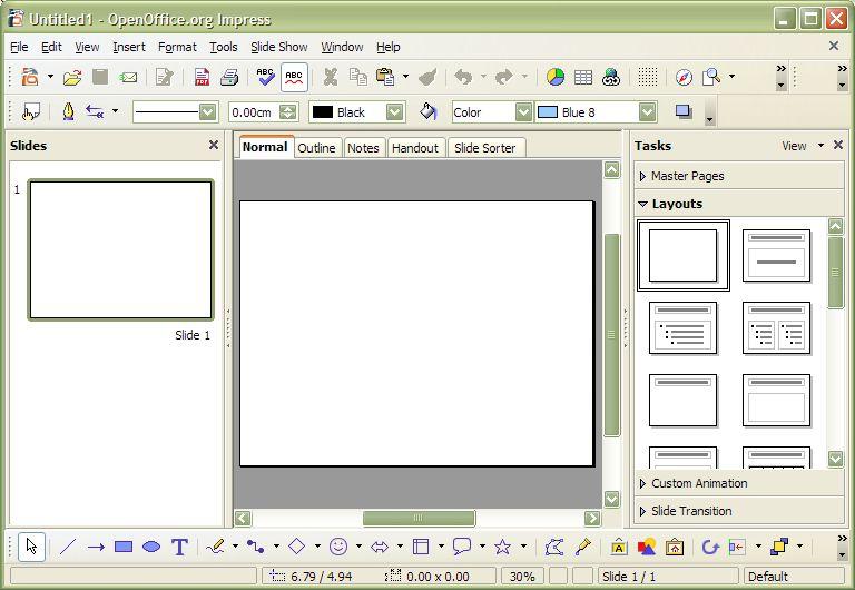 Как создать стиль опен офисе